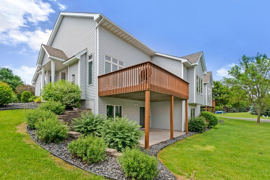 Real Estate Photography - 10954 Leaping Deer Ln, Eden Prairie, MN, 55344 - Rear View