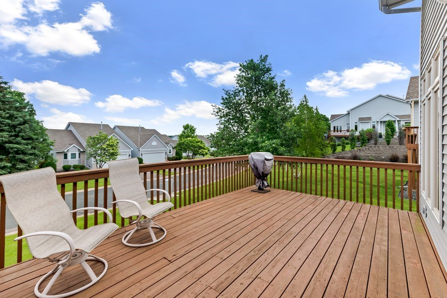 Real Estate Photography - 10954 Leaping Deer Ln, Eden Prairie, MN, 55344 - Deck