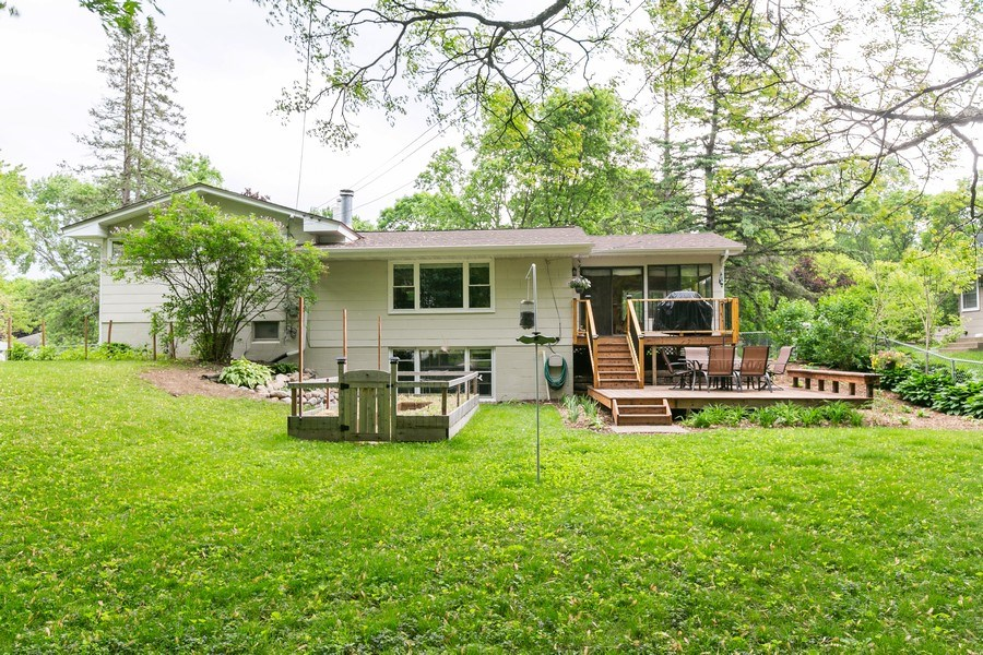 Real Estate Photography - 5302 Holiday Road, Minnetonka, MN, 55345 - Back View