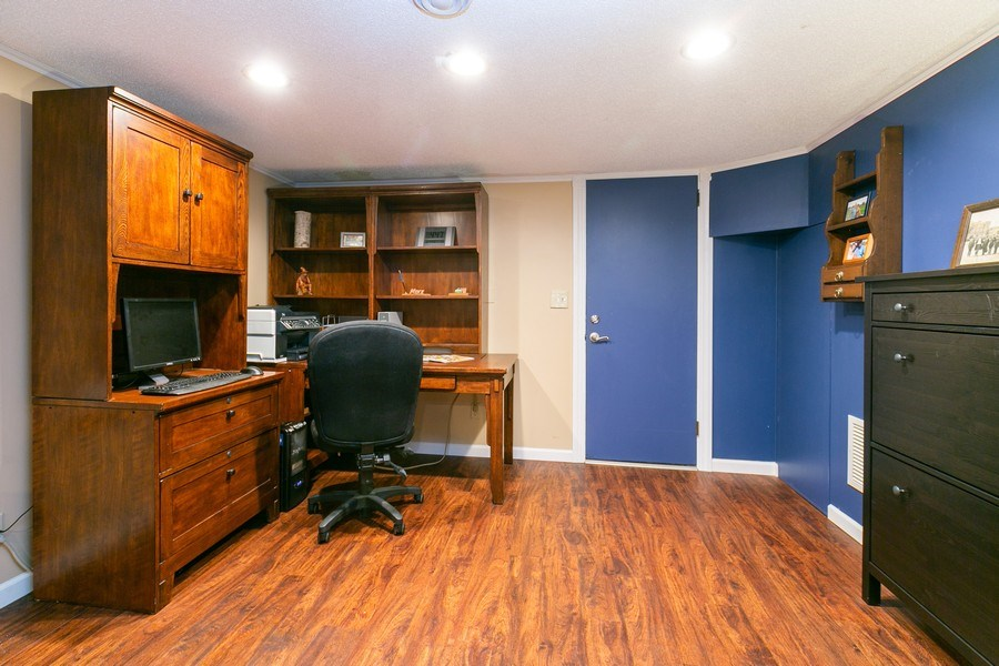 Real Estate Photography - 5302 Holiday Road, Minnetonka, MN, 55345 - Office Space (in Family Room)
