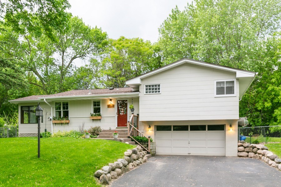 Real Estate Photography - 5302 Holiday Road, Minnetonka, MN, 55345 - Front View