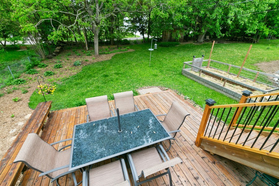 Real Estate Photography - 5302 Holiday Road, Minnetonka, MN, 55345 - Deck
