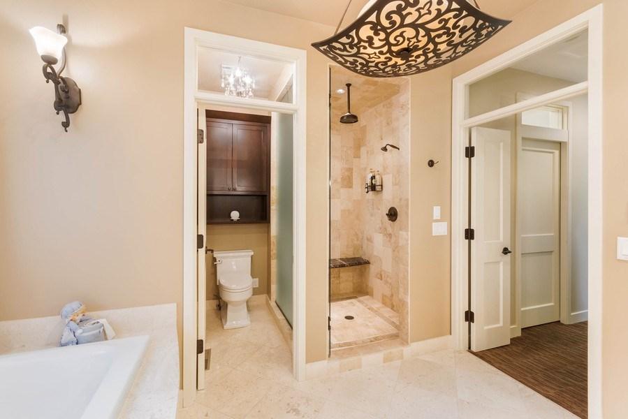 Real Estate Photography - 11614 Cedar Pass, Minnetonka, MN, 55305 - Master Bathroom