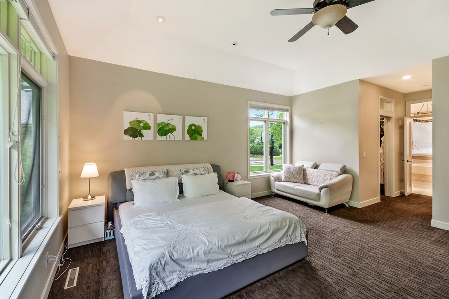 Real Estate Photography - 11614 Cedar Pass, Minnetonka, MN, 55305 - Master Bedroom