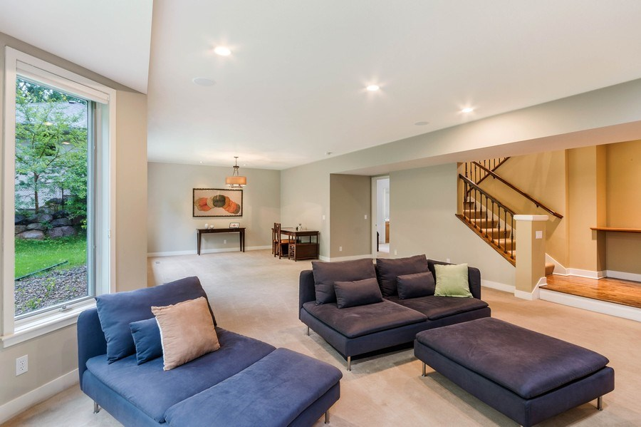 Real Estate Photography - 11614 Cedar Pass, Minnetonka, MN, 55305 - Family Room