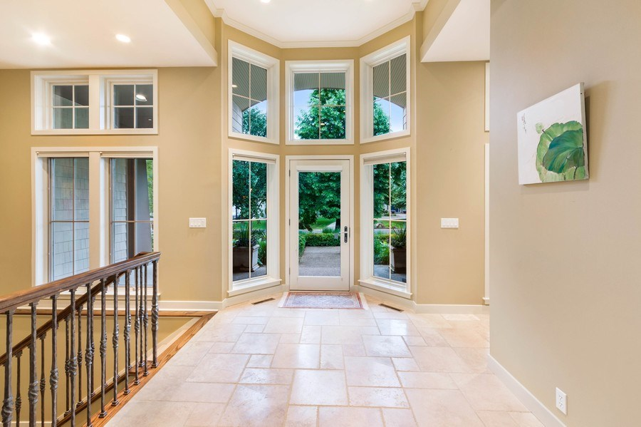 Real Estate Photography - 11614 Cedar Pass, Minnetonka, MN, 55305 - Foyer