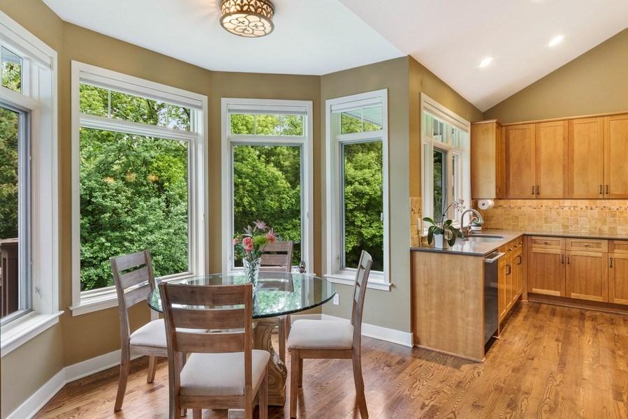 Real Estate Photography - 11614 Cedar Pass, Minnetonka, MN, 55305 - Breakfast Area