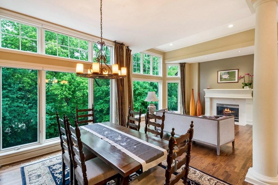 Real Estate Photography - 11614 Cedar Pass, Minnetonka, MN, 55305 - Dining Room
