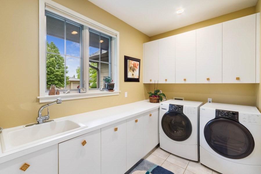 Real Estate Photography - 11614 Cedar Pass, Minnetonka, MN, 55305 - Laundry Room