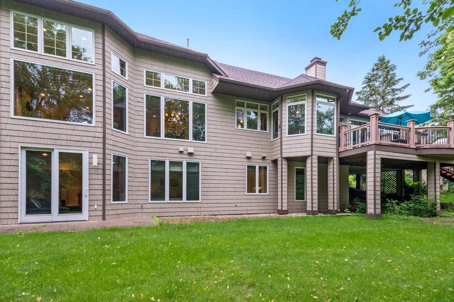 Real Estate Photography - 11614 Cedar Pass, Minnetonka, MN, 55305 - Rear View