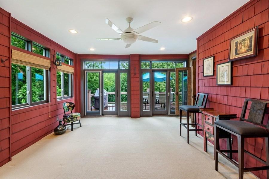 Real Estate Photography - 11614 Cedar Pass, Minnetonka, MN, 55305 - Sunroom