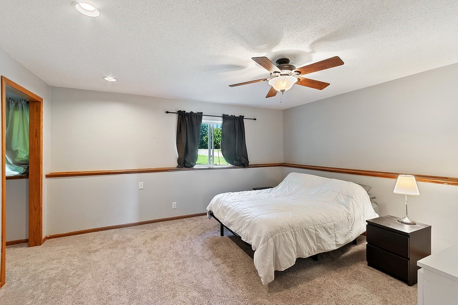 Real Estate Photography - 11885 Riverview Rd NE, Hanover, MN, 55341 - Master Bedroom
