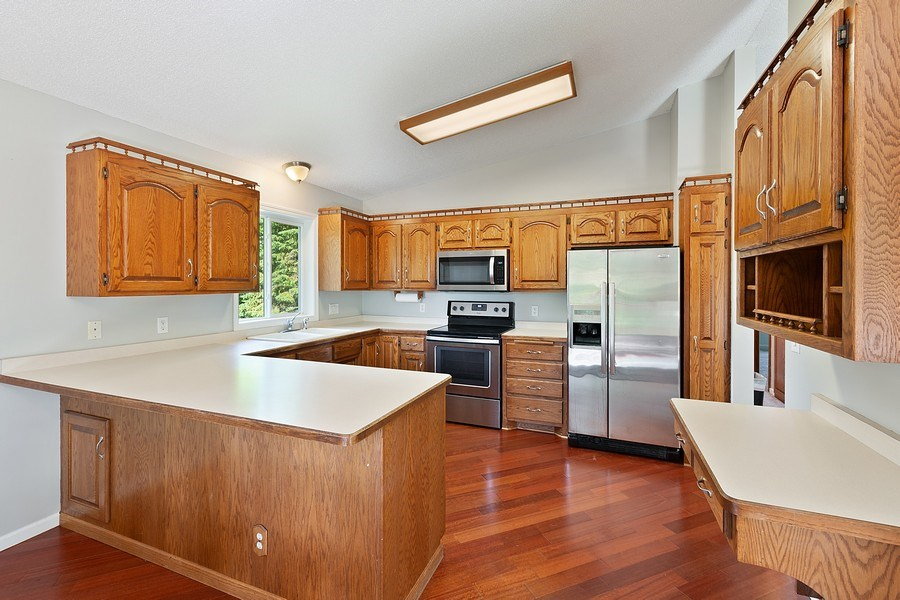 Real Estate Photography - 11885 Riverview Rd NE, Hanover, MN, 55341 - Kitchen