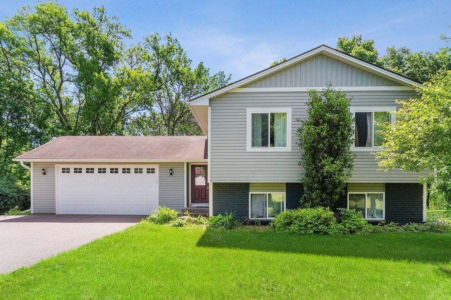 Real Estate Photography - 11885 Riverview Rd NE, Hanover, MN, 55341 - Front View