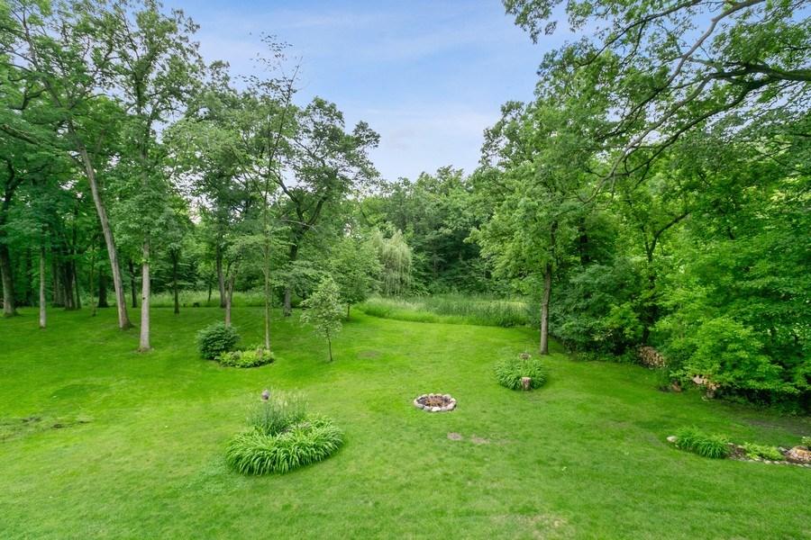 Real Estate Photography - 22861 Ridge Cir, Lakeville, MN, 55044 - Backyard View