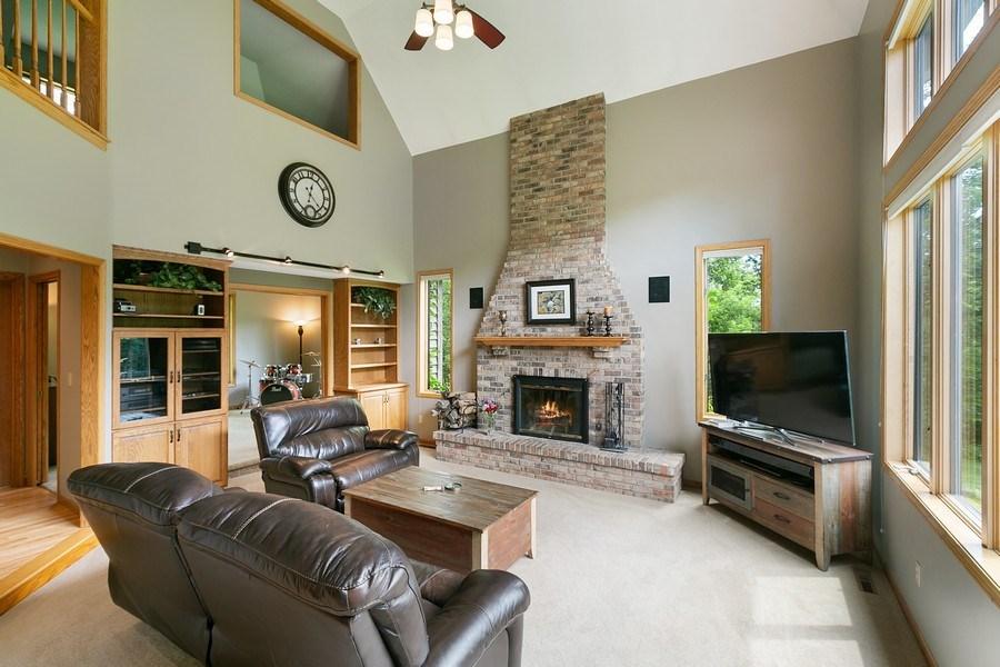 Real Estate Photography - 22861 Ridge Cir, Lakeville, MN, 55044 - Family Room