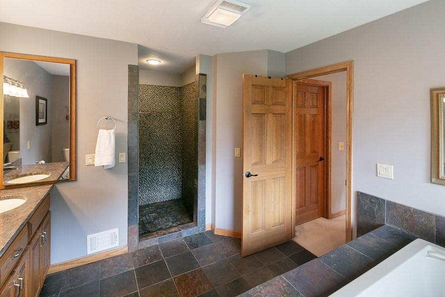 Real Estate Photography - 22861 Ridge Cir, Lakeville, MN, 55044 - Master Bathroom