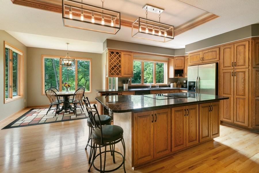 Real Estate Photography - 22861 Ridge Cir, Lakeville, MN, 55044 - Kitchen