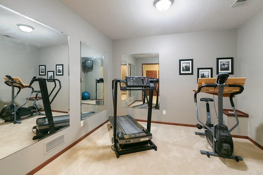 Real Estate Photography - 22861 Ridge Cir, Lakeville, MN, 55044 - Exercise Room