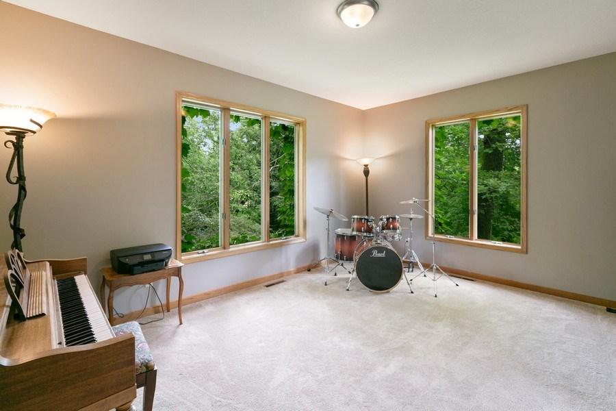 Real Estate Photography - 22861 Ridge Cir, Lakeville, MN, 55044 - Living/Flex Room