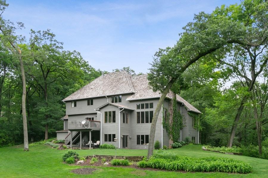 Real Estate Photography - 22861 Ridge Cir, Lakeville, MN, 55044 - Rear of Home