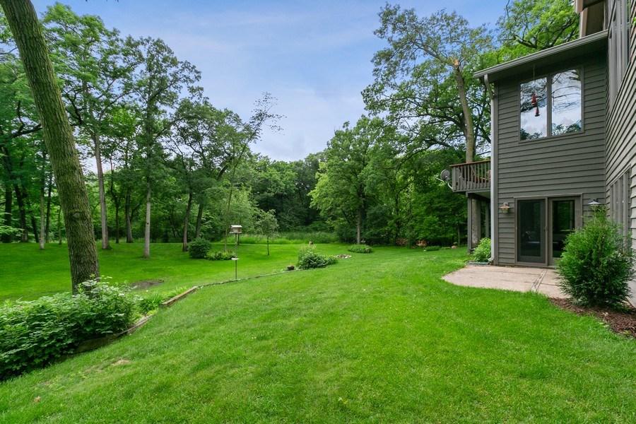 Real Estate Photography - 22861 Ridge Cir, Lakeville, MN, 55044 - Backyard