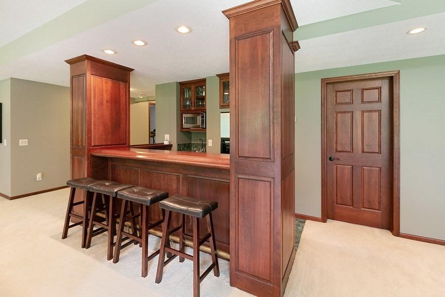 Real Estate Photography - 22861 Ridge Cir, Lakeville, MN, 55044 - Wet Bar