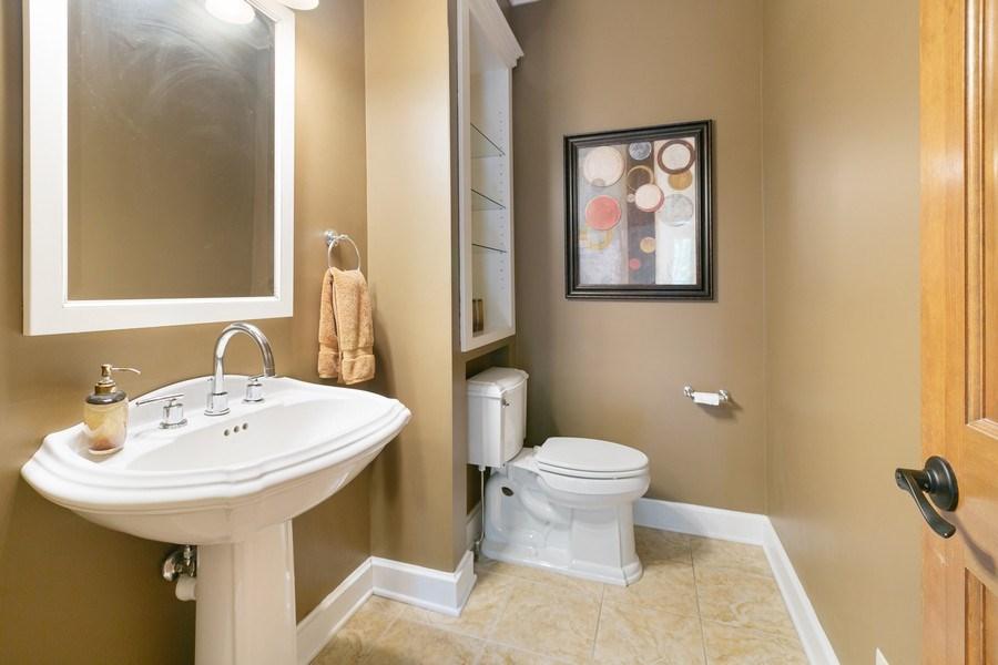 Real Estate Photography - 22861 Ridge Cir, Lakeville, MN, 55044 - 1/2 Bath Main Floor
