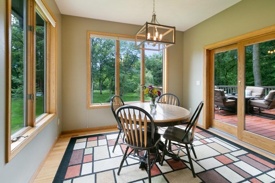 Real Estate Photography - 22861 Ridge Cir, Lakeville, MN, 55044 - Informal Dining