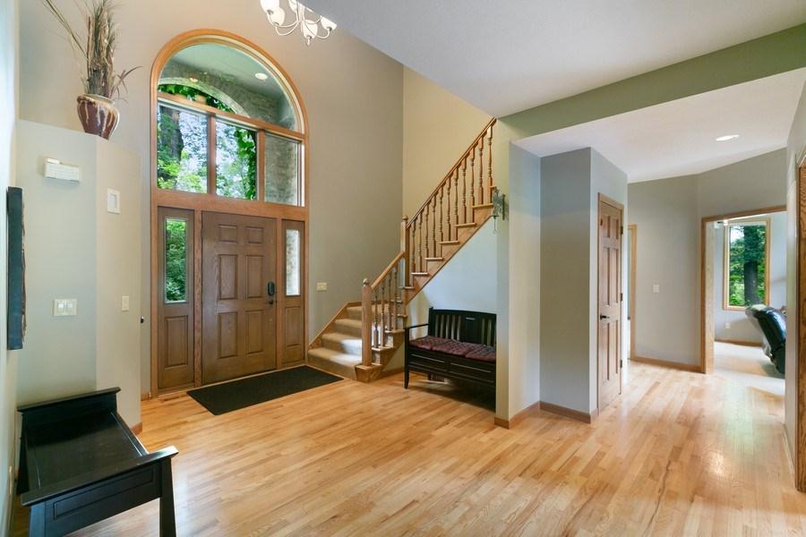 Real Estate Photography - 22861 Ridge Cir, Lakeville, MN, 55044 - Foyer
