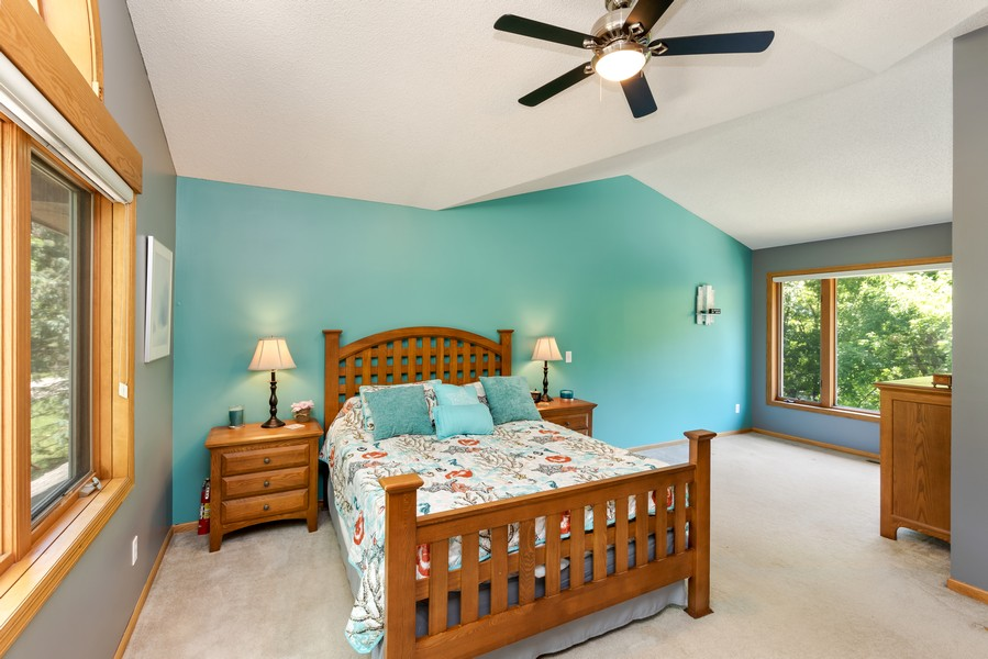 Real Estate Photography - 1802 Sakenda Road, Buffalo, MN, 55313 - Master Bedroom