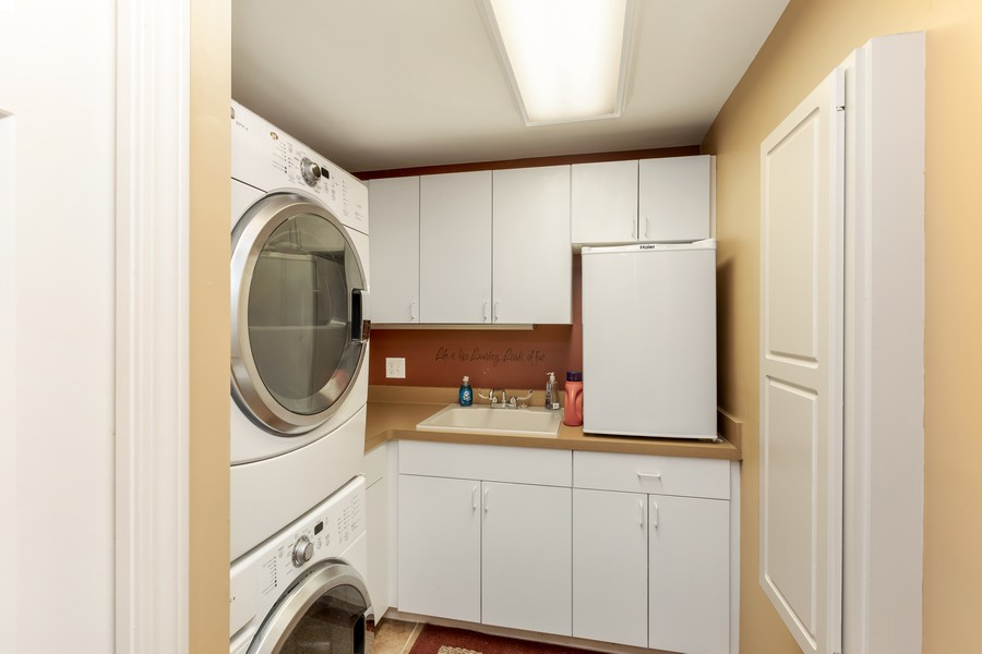 Real Estate Photography - 1802 Sakenda Road, Buffalo, MN, 55313 - Laundry Room