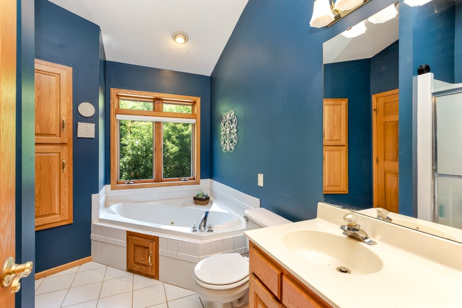 Real Estate Photography - 1802 Sakenda Road, Buffalo, MN, 55313 - Bathroom