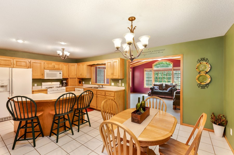 Real Estate Photography - 1802 Sakenda Road, Buffalo, MN, 55313 - Kitchen / Dining Room