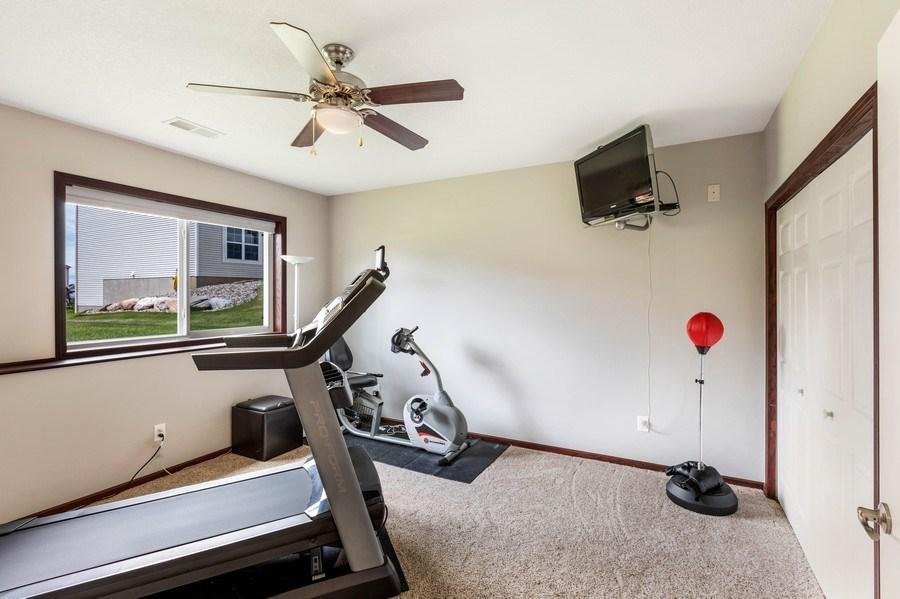 Real Estate Photography - 2122 Rockridge Circle, Shakopee, MN, 55379 - 5th Bedroom