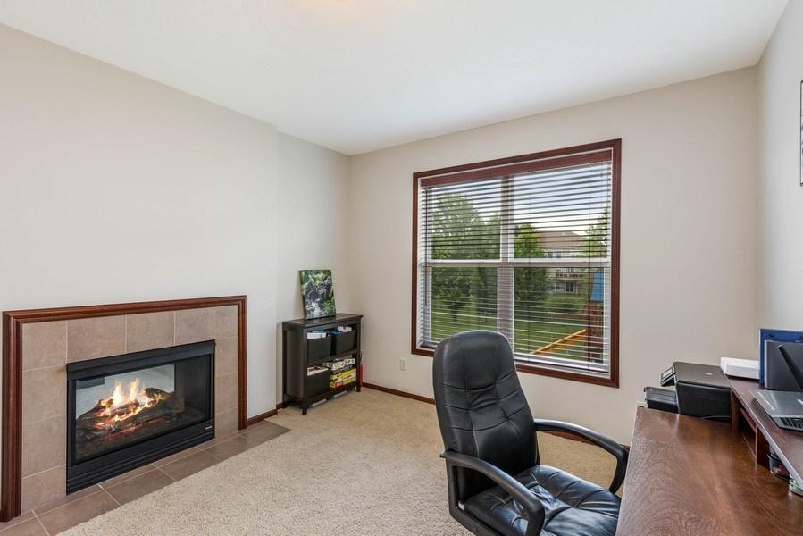 Real Estate Photography - 2122 Rockridge Circle, Shakopee, MN, 55379 - Office