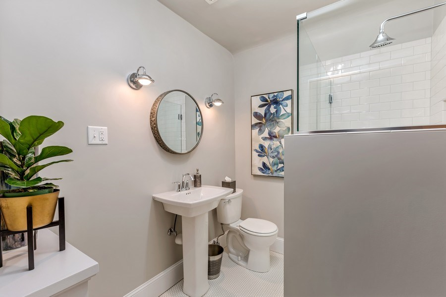 Real Estate Photography - 1301 W 6th Street, Red Wing, MN, 55066 - 3rd Bathroom