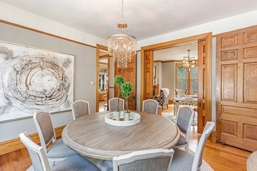Real Estate Photography - 1301 W 6th Street, Red Wing, MN, 55066 - Dining Room