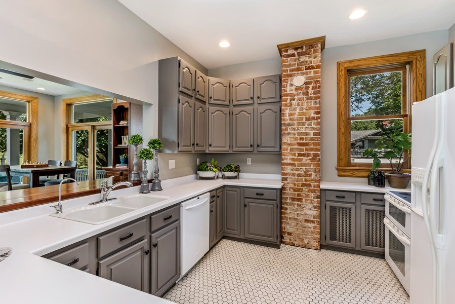 Real Estate Photography - 1301 W 6th Street, Red Wing, MN, 55066 - Kitchen