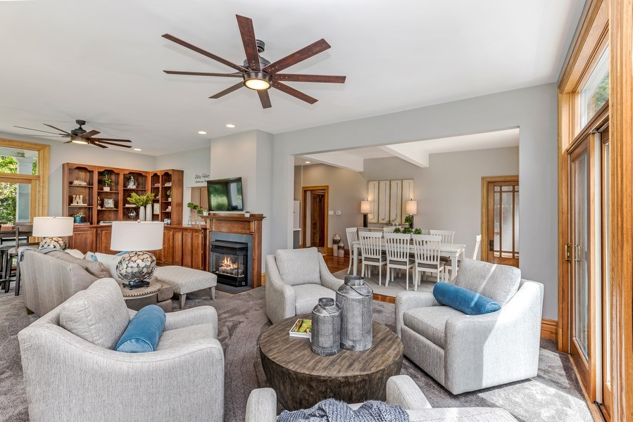 Real Estate Photography - 1301 W 6th Street, Red Wing, MN, 55066 - Family Room / Dining Room