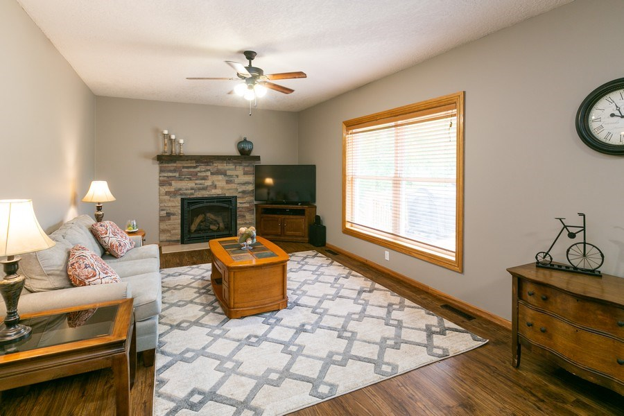 Real Estate Photography - 1430 Aretz CT, Victoria, MN, 55386 - Family room