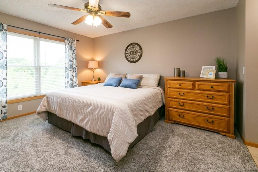 Real Estate Photography - 1430 Aretz CT, Victoria, MN, 55386 - Master bedroom