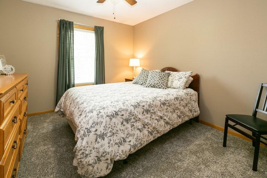 Real Estate Photography - 1430 Aretz CT, Victoria, MN, 55386 - Upper level bedroom