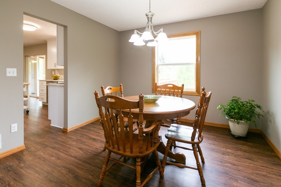 Real Estate Photography - 1430 Aretz CT, Victoria, MN, 55386 - Dining room