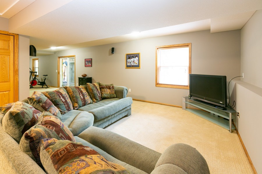 Real Estate Photography - 1430 Aretz CT, Victoria, MN, 55386 - Lower level
