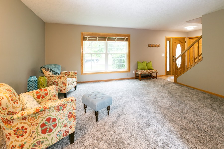 Real Estate Photography - 1430 Aretz CT, Victoria, MN, 55386 - Living room