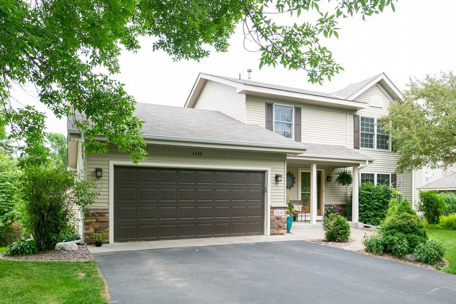 Real Estate Photography - 1430 Aretz CT, Victoria, MN, 55386 - Front View