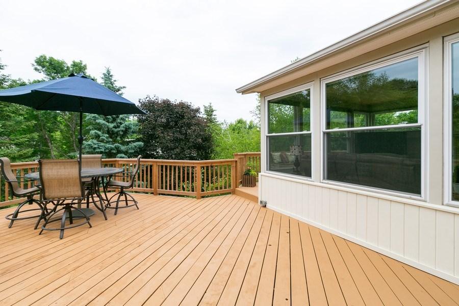 Real Estate Photography - 1430 Aretz CT, Victoria, MN, 55386 - Deck