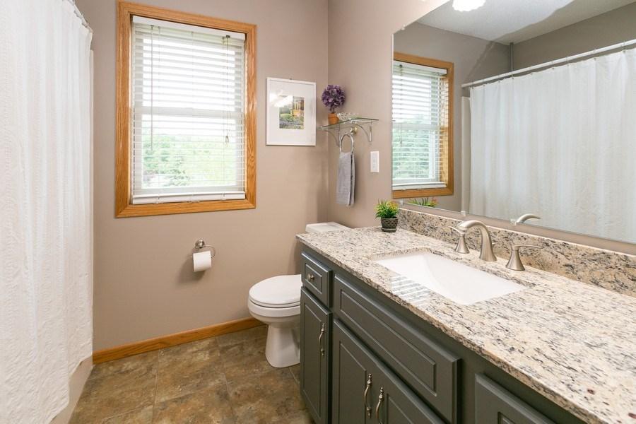 Real Estate Photography - 1430 Aretz CT, Victoria, MN, 55386 - Upper level bathroom