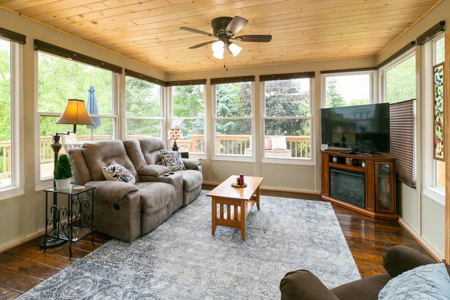 Real Estate Photography - 1430 Aretz CT, Victoria, MN, 55386 - Sun room